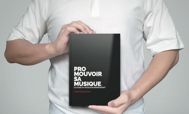 Omslagfoto van project Promouvoir sa musique (le livre)