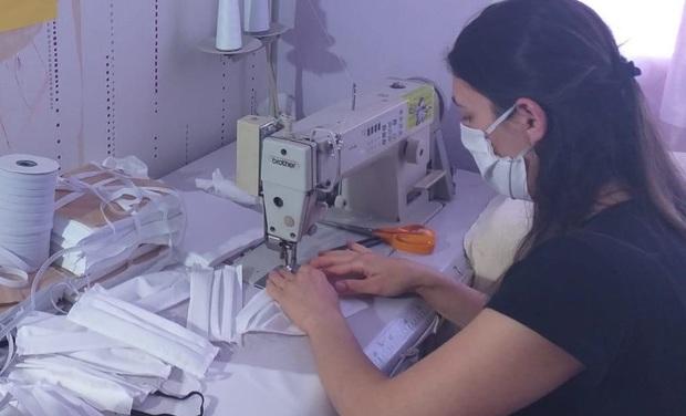 Visuel du projet Des masques pour le personnel soignant
