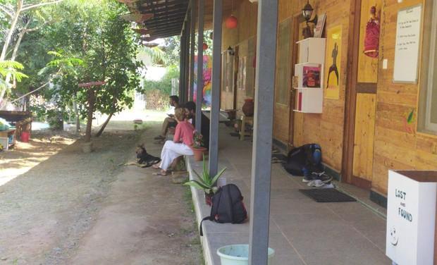 Project visual Une petite aide pour un petit hostel en Inde/ a small hello for indien hostel