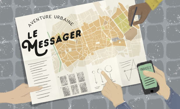 Omslagfoto van project Oh My Guide! / Le Messager. L'aventure urbaine interactive