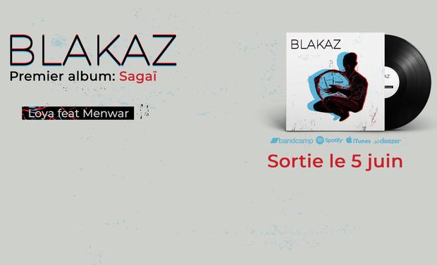 Omslagfoto van project Premier album de Blakaz : Sagaï