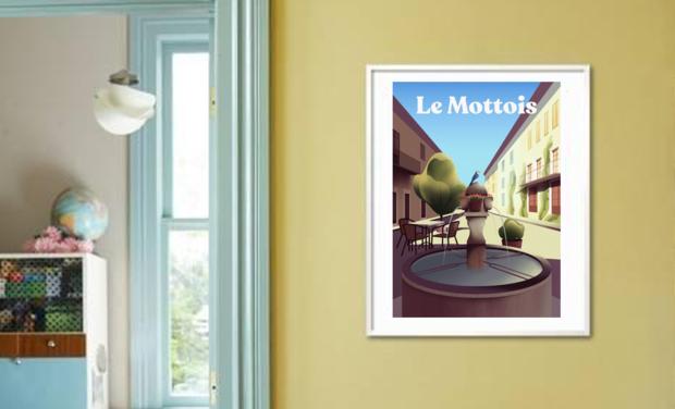 Omslagfoto van project Le Mottois - Illustrations du village pour soutenir une association mottoise