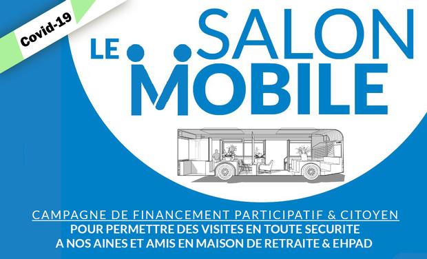 Project visual Salon Mobile - retisser le lien social des EHPAD