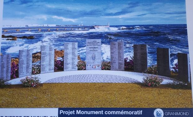 Project visual Mémorial en l'honneur des 529 Engagés Volontaires de St-Pierre et Miquelon