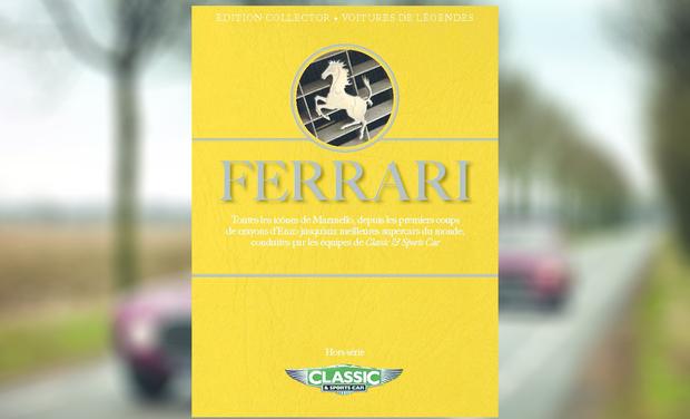 Visuel du projet Plongez avec le magazine Classic & Sports Car dans l'univers Ferrari