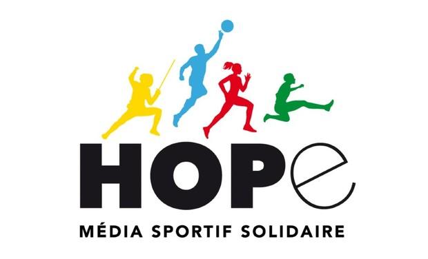 Omslagfoto van project Hope, média sportif et solidaire