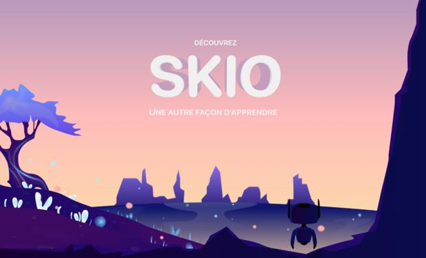 Visuel du projet SKIO, une autre façon d'apprendre pour les enfants