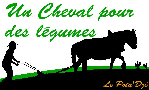 Visuel du projet Un cheval pour des légumes