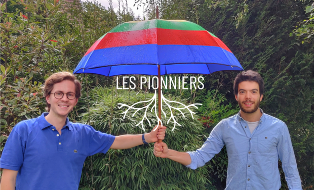 Project visual Les Pionniers