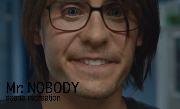 Visueel van project Mr. Nobody - scene recreation