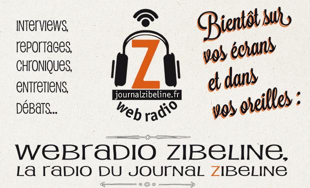 Visuel du projet Webradio Zibeline