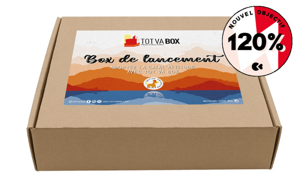Visueel van project TOT VA BOX  - une box 100% catalane