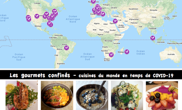 Visueel van project Housebound across the world_how to still indulge (oneself)