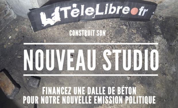 Visuel du projet LaTéléLibre fait son studio !