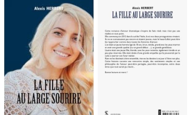 Visueel van project La fille au large sourire dédicacé