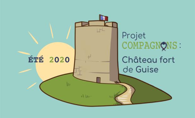 Visueel van project Projet compagnon Château fort de Guise