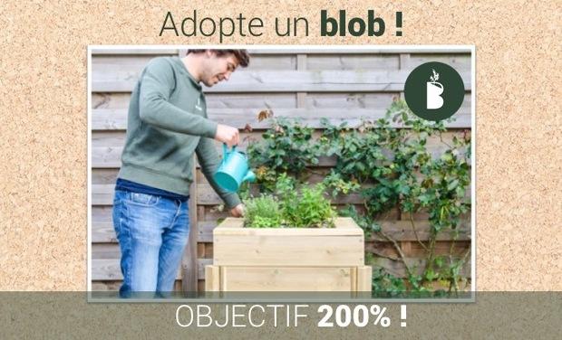 Visuel du projet Adopte un blob, le beau potager facile à cultiver