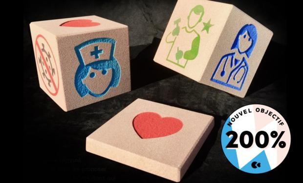 Omslagfoto van project Des pierres gravées pour l'hôpital