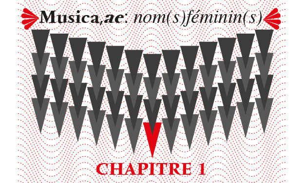 Project visual Musica,ae:Nom(s)féminin(s)