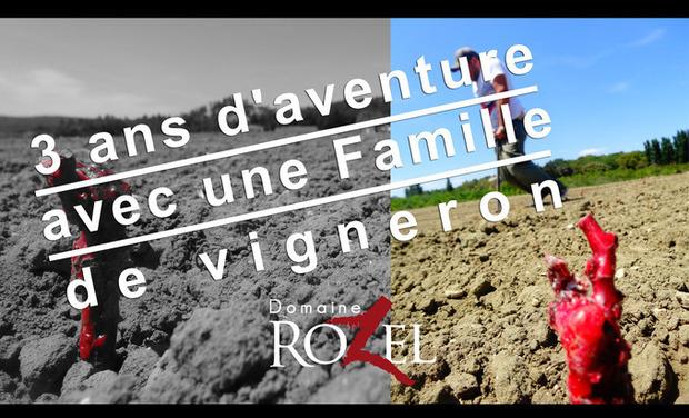 Visueel van project 3 ans d'aventure avec une Famille de vigneron