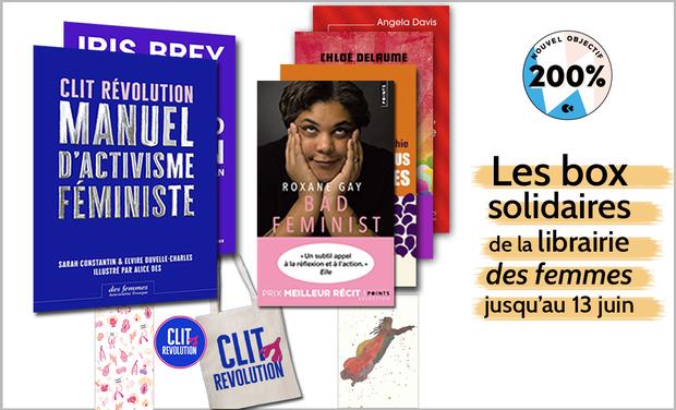 Project visual Les box solidaires de la Librairie des femmes