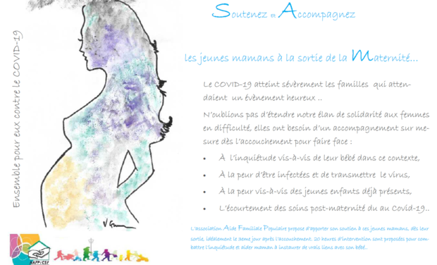 Visueel van project Soutenez et Accompagnez la Maternité des femmes en difficulté