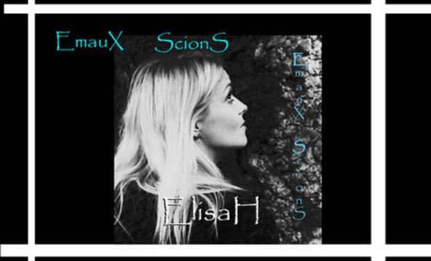 """Visuel du projet Le prochain CD d'ElisaH """"EmauX ScionS"""""""