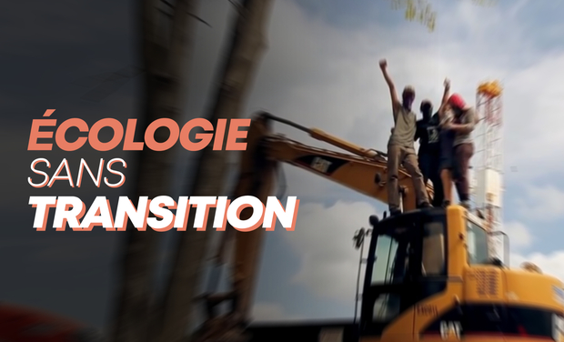 Visueel van project Ecologie sans transition, le livre
