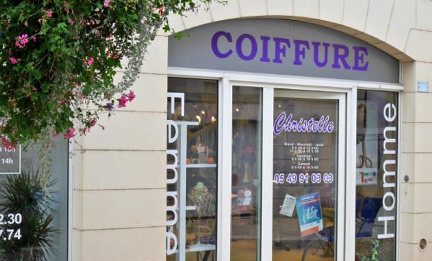 Visueel van project 86 - Christelle Coiffure à Montmorillon