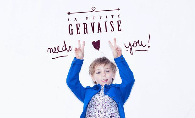 """Visuel du projet """"La Petite Gervaise"""""""