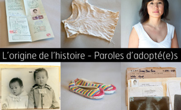 Project visual L'origine de l'histoire - Paroles d'adoptés
