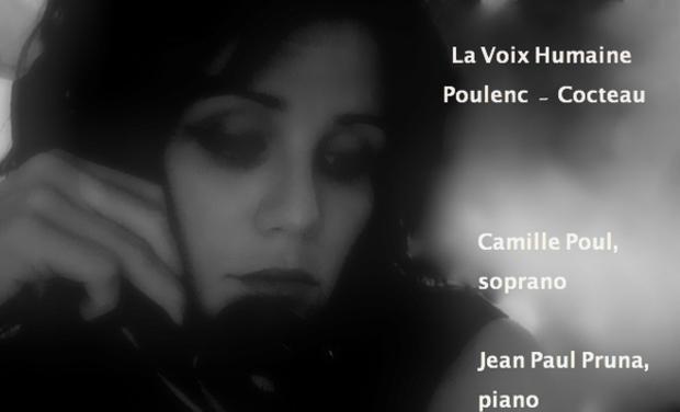 Visuel du projet  La Voix Humaine, Poulenc