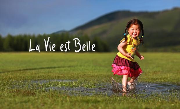 Visuel du projet La Vie est Belle, le livre