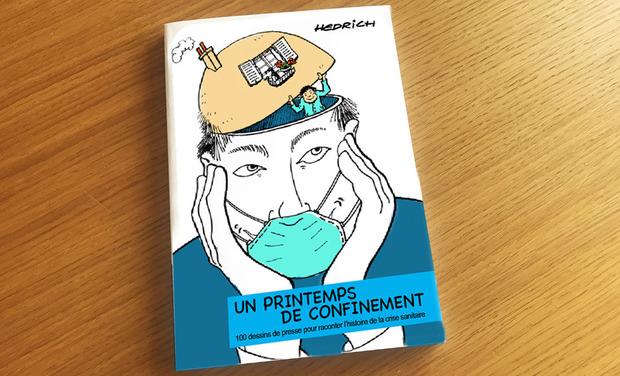 Project visual 1 LIVRE GRAPHIQUE                               pour raconter la crise sanitaire