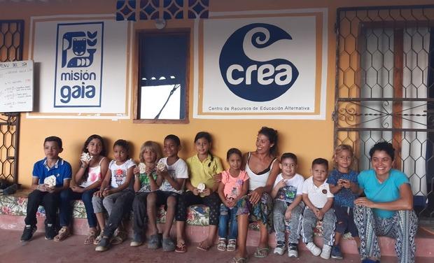 Project visual Sauver le centre culturel et social CREA à Minca en Colombie