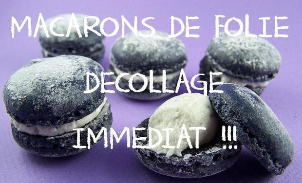Project visual MACARONS DE FOLIE.... DECOLLAGE IMMEDIAT !