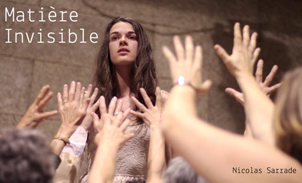 """Visuel du projet """"Matière Invisible"""" - premier photo-roman théâtral"""