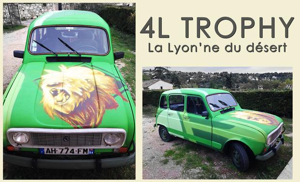 Visuel du projet La Lyon'ne du désert / 4L TROPHY 2014
