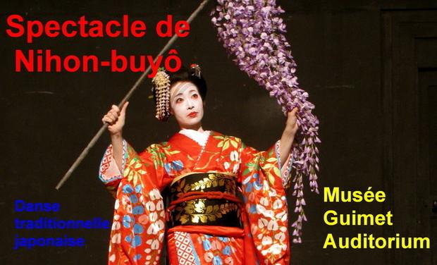 Visuel du projet Spectacle de Nihon-buyô au Musée Guimet
