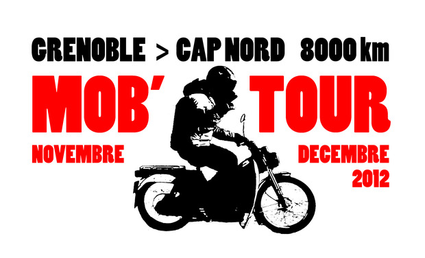 Project visual Le Mobtour - 8000 km en mobylette