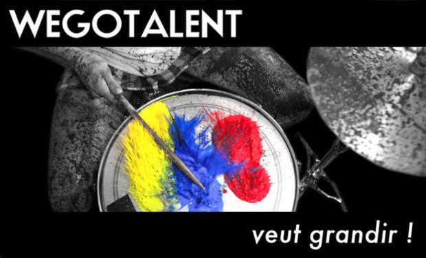 Visuel du projet Wegotalent veut grandir!