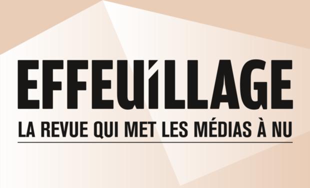 Visuel du projet Effeuillage, la revue qui met les médias à nu