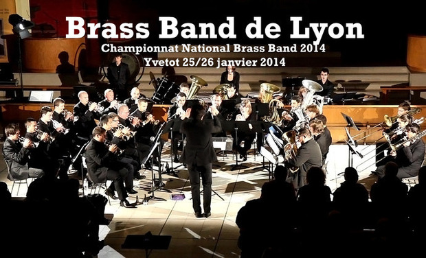 Visuel du projet Le Brass Band de Lyon au Championnat National de Brass Band 2014