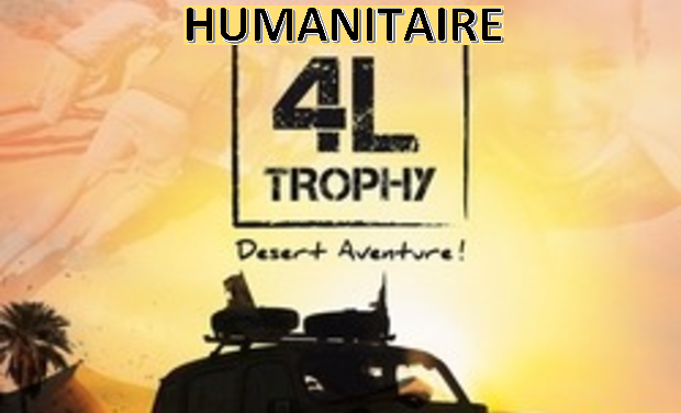 Visueel van project Humanitaire 4l Trophy