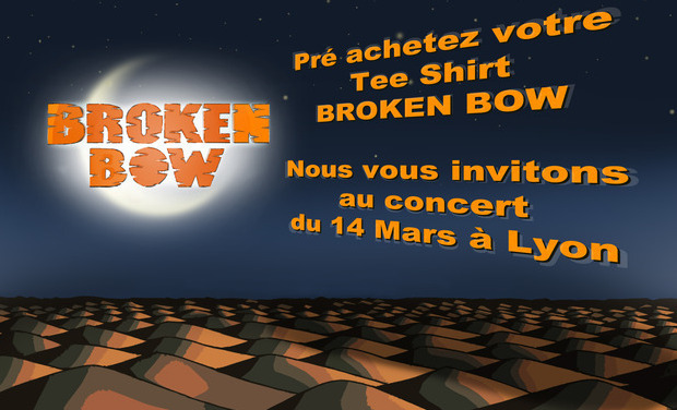 Visueel van project Tee Shirt Broken Bow + concert