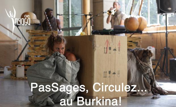 Visuel du projet PasSages, circulez... au Burkina!