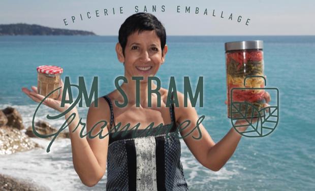 Project visual Am Stram Grammes : Epicerie locale 100% zero déchet à Nice