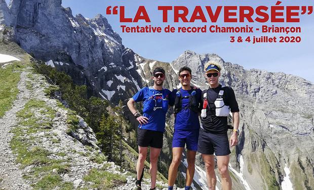 Visueel van project GR 5 : Grégoire Curmer, Martin Kern et Baptiste Robin s'attaquent au record !