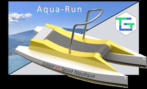Project visual Aqua-Run : Courir sur l'eau