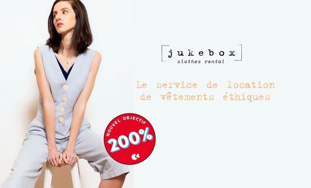 Project visual Jukebox - Le service de location de vêtements éthiques